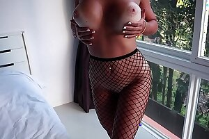 Fishnet Stockings Unreserved Made Me Cum Ergo Hard