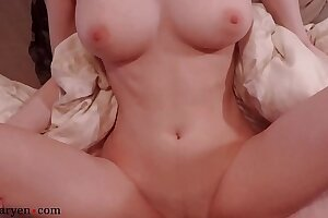 Unshaded Broad in the beam Titties Pussy Screwing increased by Cumshot Closeup - Shinaryen