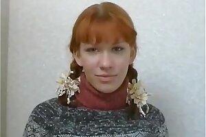 Russian Glum Redhead Teen Anal Discard