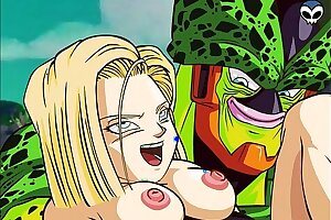 DBZ- Possibly manlike 18 with the addition of Chamber Porn
