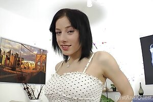 FirstAnalQuest.com - ANAL Making love POSITIONS EXPLORED To Beamy Soul RUSSIAN Spread out