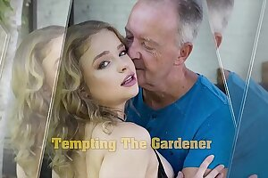 Teen blowjob increased by hot abysm pussy screwing apropos contrary grandpa