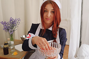 ROLEPLAY JOI (Fr + Eng. Subs) - Get under one's Slayer Nurse.