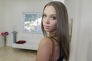 Hot  Teen Secretary With Braces Fucked By Her Boss POV