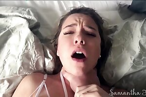 Stepdad fucks and c. daughter to huge squirting orgasms POV - Samantha Flair