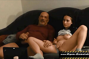 wank with stepdaughter